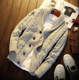 VINTAGE CASUAL KNITTED CARDIGAN - MEN'S WEAR Store