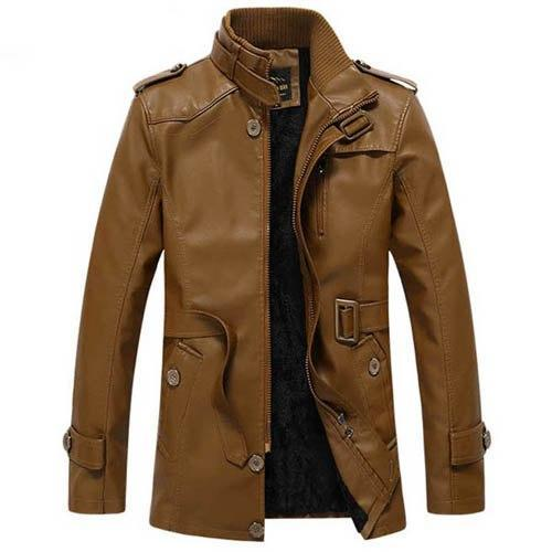 WINTER FASHION LEATHER COAT - MEN'S WEAR Store