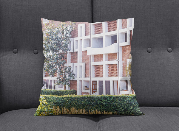Chandigarh Modern Pillow by aaart - art inspired decorative throw pillows