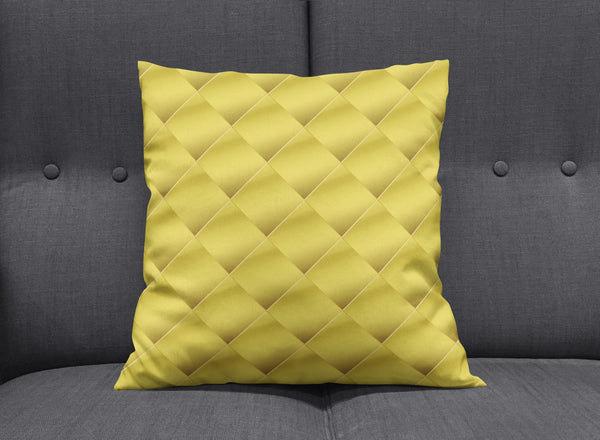 Art Deco Golden Cushion by aaart - art inspired decorative throw pillows