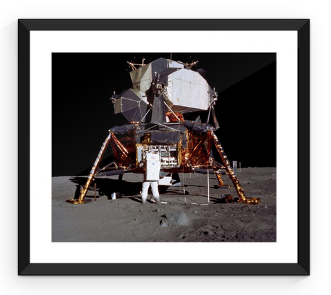 Apollo 11 Lunar Lander - Framed Print