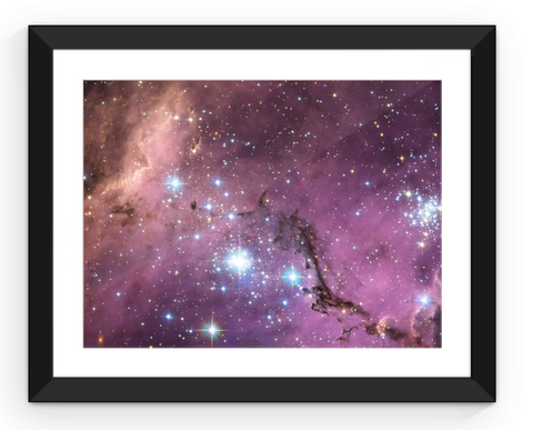 Large Magellanic Cloud - Framed Print