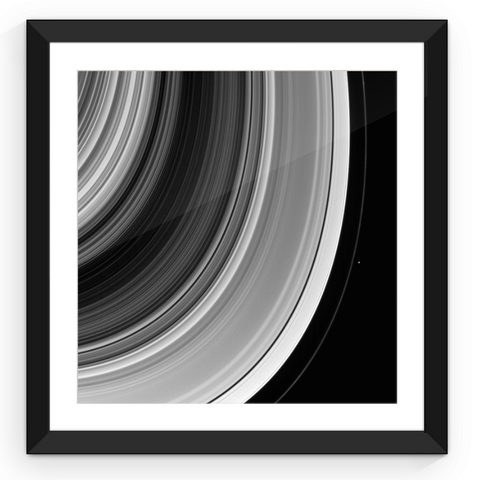 Saturn's Rings - Framed Print