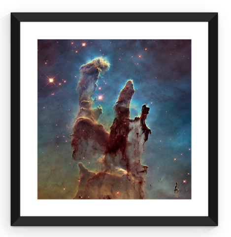 Pillars of Creation - Framed Print