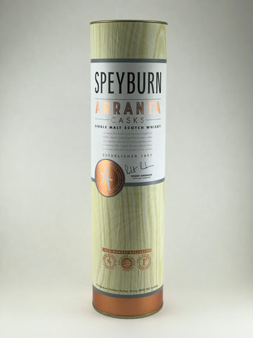 SpeyBurn Arranta casks Single malt