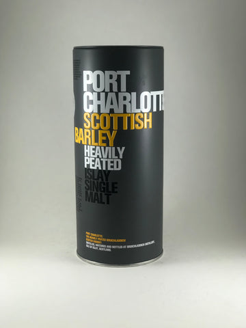 Port Charlotte scotch heavily peated