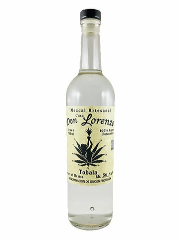 Don Lorenzo mezcal tobala