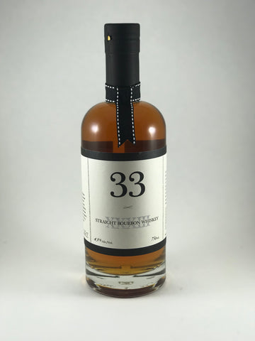 33 straight bourbon whiskey