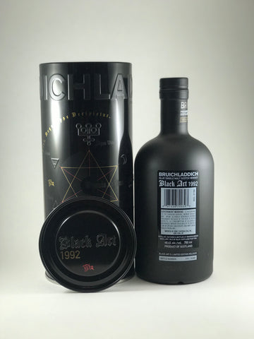 Bruichladdich black art 1992 Aged 24 years