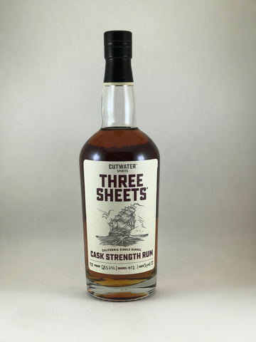 Three sheets cask strength 127proof