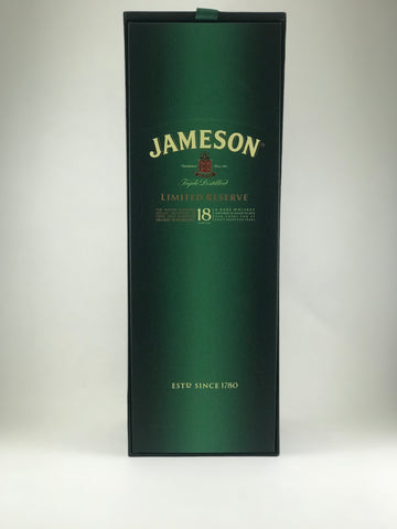 Jameson limited reserve 18 years