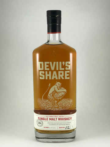 Devil share single malt whiskey (San Diego)
