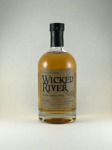 Wicked River blended Canadian whiskey