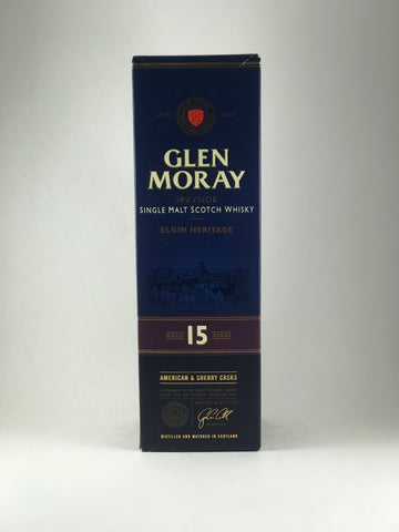 Glen Moray Elgin heritage 15 years
