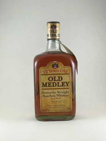 Old medley bourbon 12 Years