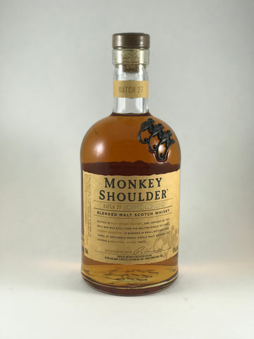 Monkey Shoulder scotch whiskey