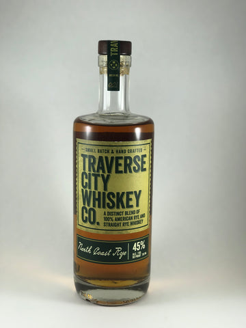 Traverse city whiskey north coast Rye