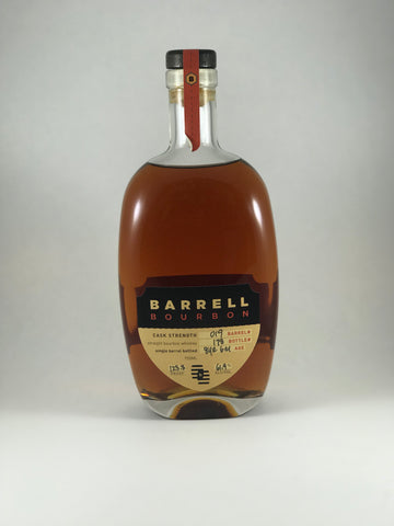 BARRELL bourbon 123.8 proof