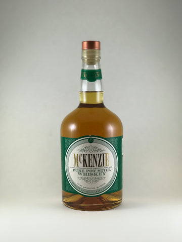 McKenzie pure Pot Still whiskey