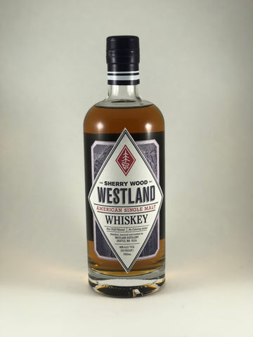 Westland whiskey sherry wood