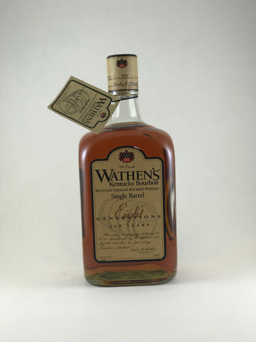 Wathen's bourbon Single barrell