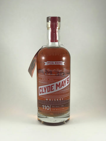 Clyde May's special reserve 110proof