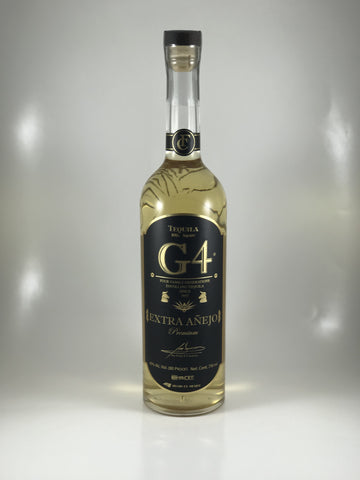 G4 tequila Extra Anejo
