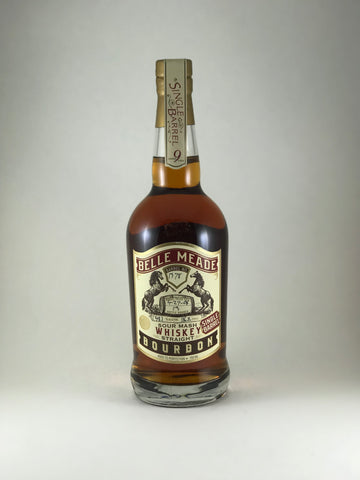 Belle Meade sour mash bourbon 9years aged