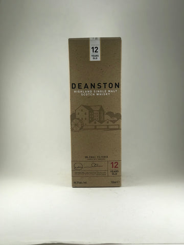 Deanstone highlany Single malt 12 years