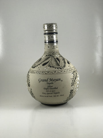 Grand Mayan silver triple distilled