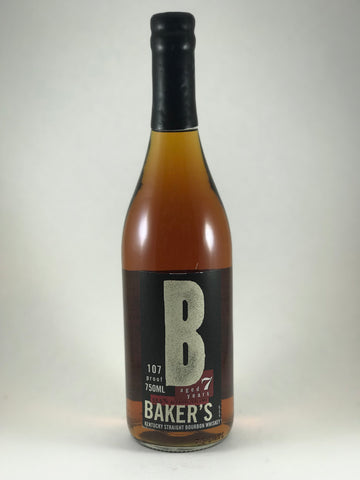 Bakers bourbon 7 years aged