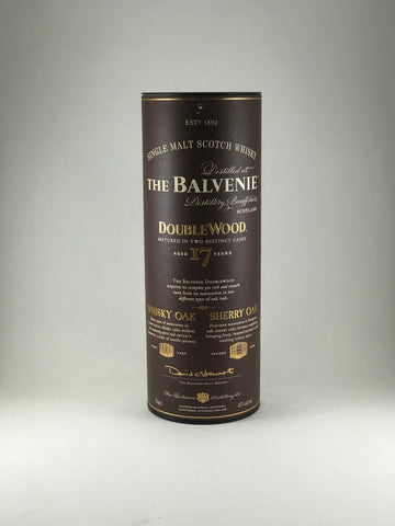 The balvenie aged 17years double wood
