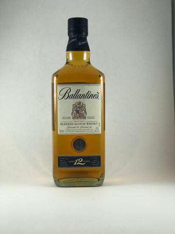 Ballantine's scotch 12 years