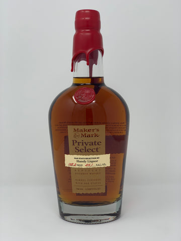 Maker's Mark private selection (handy liquor)