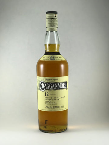 Cragganmore spayside Single malt 12 years