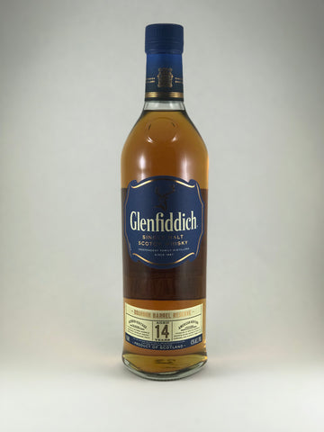 Glenfiddich Single malt scotch 14 years