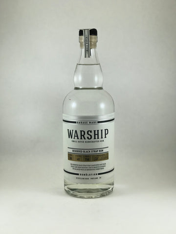 Warship reserved. Rum