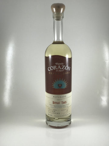 Corazon tequila Reposado rested in buffalo trace