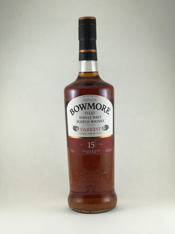 BOWMORE islay Single malt Aged 15years sherry cask finished