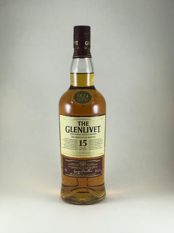The Glenlivet 15 years scotch