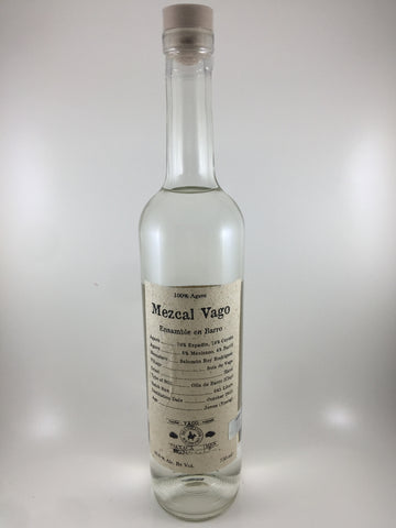 Mezcal Vago Ensamble en Barro (750ml)