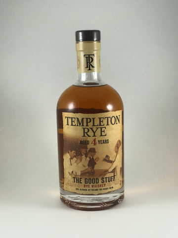 Templeton Rye aged 4years