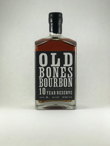 Old bones bourbon 10 years Reserve