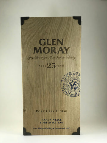 Glen Moray aged 25years rare vintage (limited edition)