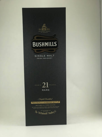 Bushmills Single malt 21 years RARE
