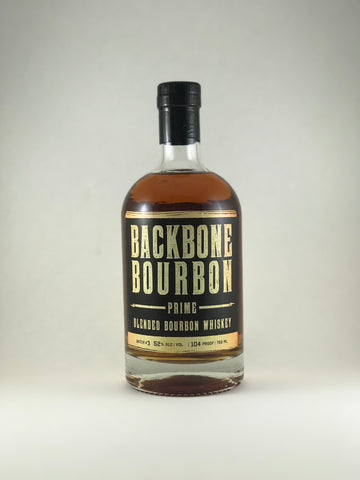 Backbone bourbon prime blended bourbon whiskey