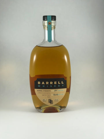 BARRELL whiskey batch 1 (aged 7years)