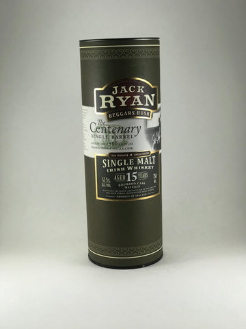 Jack Ryan the centenary aged 15years (only 500 bottle made)