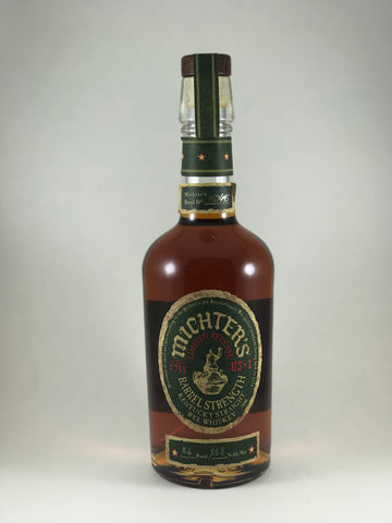 Michter's barrel strength Rye whiskey(limited release)