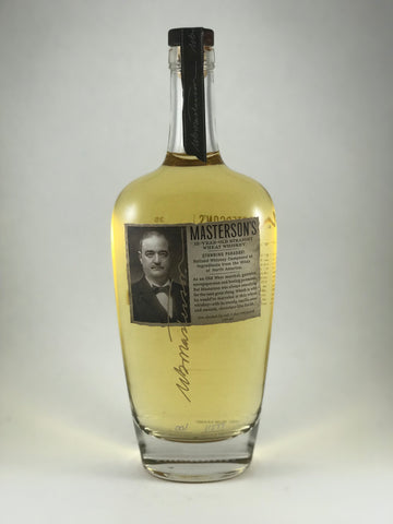 Masterson's wheat whiskey 12years